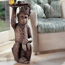 <strong>Design Toscano</strong> Moroccan Monkey Butler Sculptural End Table