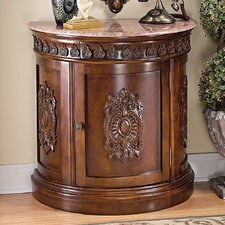 Grand Medallion Crescent Console Table