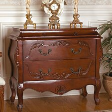 <strong>Design Toscano</strong> Jean Henri Bombe Commode 2 Drawer Chest