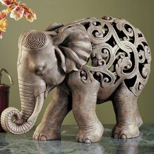 Anjan the Elephant Jali Figurine