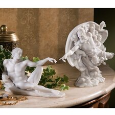 <strong>Design Toscano</strong> 2 Piece The Creation of Adam Figurine Set