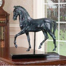 2 Piece Classical Horse Study Figurine
