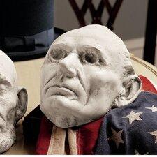 Volk's Abraham Lincoln Life Mask Bust