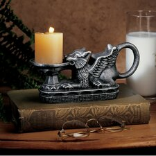 <strong>Design Toscano</strong> Hortense Castle Gryphon Candle Holder