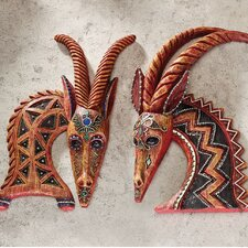 East of the Serengeti Wall Sculptures