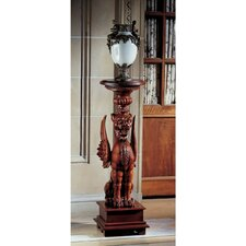 English Griffin Pedestal Plant Stand