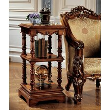 The Lord Pimlicoe Etagere End Table