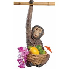 <strong>Design Toscano</strong> Monkey Business Hanging Statue