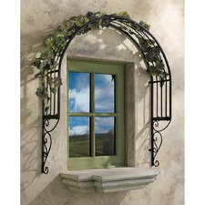 Thornbury Metal Window Trellis (Set of 2)