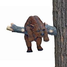 <strong>Design Toscano</strong> Out on a Limb Hanging Bear Cub Statue