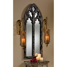 Gothic  Cathedral Arch Wall Mirror