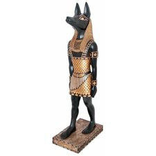 The Egyptian Jackal - God Anubis Statue