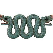 Aztec Double - Headed Serpent Wall Sculpture