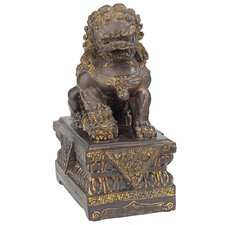 Chinese Guardian Male Lion Foo Dog Statue