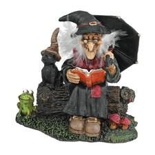 Bewitching Witches Book of Spells Statue