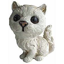 Cherished Cat Persian Kitten Statue