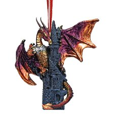 <strong>Design Toscano</strong> Zanzibar, the Gothic Dragon 2012 Holiday Ornament