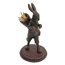 The Wandering Rabbit Matchstick Figurine