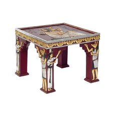 Egyptian Temple of Khafre Ornamental End Table