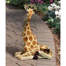 Zari Resting Giraffe Statue
