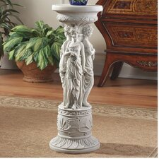 Chatsworth Manor Neoclassical Pedestal Plant Stand