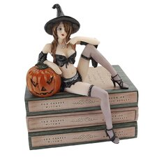 Halloween Temptress Witch Shelf Sitter Statue