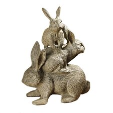 Bunched Bunnies Statue