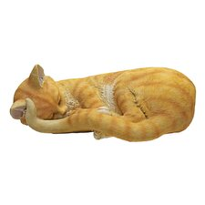 Cat Nap Sleeping Kitten Statue