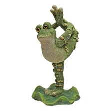 <strong>Design Toscano</strong> Boogie Down, Dancing Frog Leg Up Statue