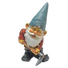 Bulldoze and the Garden Gnome Statue