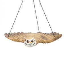 The Garden Owl Hanging Sculpture