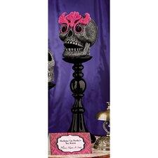 Skull-a-Bration Skull Head Statue Miss Absinthe