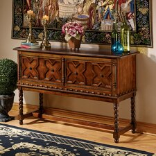 Gothic Quatrefoil Console Table