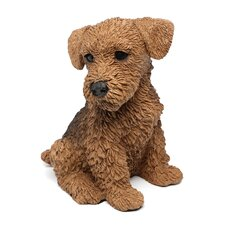 <strong>Design Toscano</strong> Airedale Puppy Dog Figurine