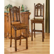 "Sudbury Gothic 30"" Bar Stool (Set of 2)"