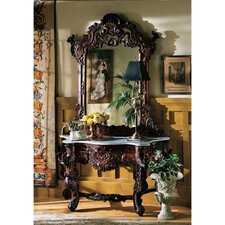 <strong>Design Toscano</strong> Hapsburg Console Table and Mirror Set