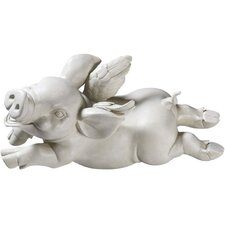 <strong>Design Toscano</strong> If Pigs Had Wings Figurine (Set of 2)