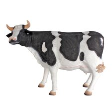 <strong>Design Toscano</strong> Holstein Cow Scaled Statue