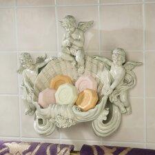 The Cherub Font Soap Dish