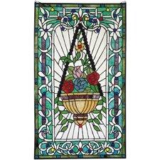 Le Fenetre des Fleurs Stained Glass Window