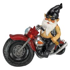 Axle Grease, the Biker Gnome Statue