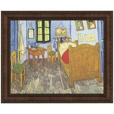 The Bedroom, 1889 by Vincent Van Gogh Framed Painting Print