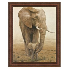 Momma's Boy by W. Michael Frye Framed Painting Print