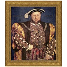 Henry VIII, 1540 by Hans Holbein the Younger Framed Painting Print