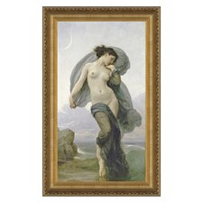 Evening Mood, 1882 by William-Adolphe Bouguereau Framed Painting Print