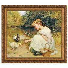 Making Friends, 1885 by Frederick Morgan Framed Painting Print