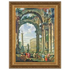 <strong>Design Toscano</strong> Roman Capriccio, 1735 Replica Painting Canvas Art