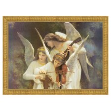 Song of the Angels Classic Reproduction by William Adolphe Bouguereau Framed Painting Print