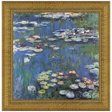 Waterlillies, 1914 by Claude Monet Framed Painting Print