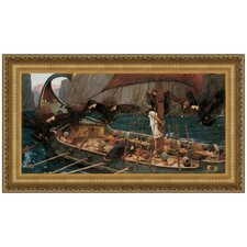 Ulysses and the Sirens, 1891 by John William Waterhouse Framed Painting Print